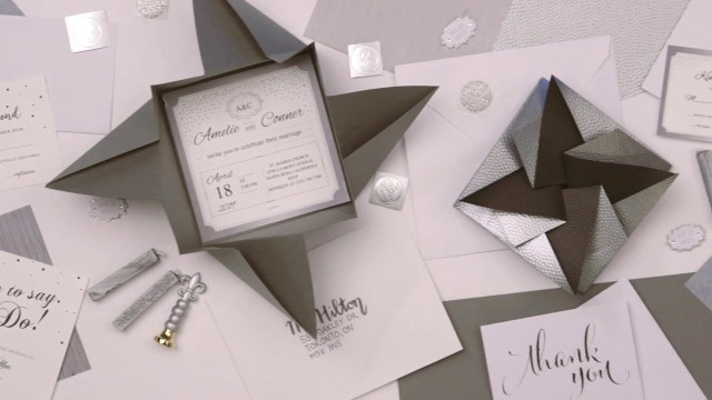 Wedding Invitation Envelopes Diy Origami Envelopes For Your Wedding Youtube