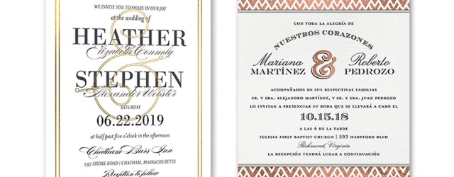 Wedding Invitation Examples 35 Wedding Invitation Wording Examples 2018 Shutterfly
