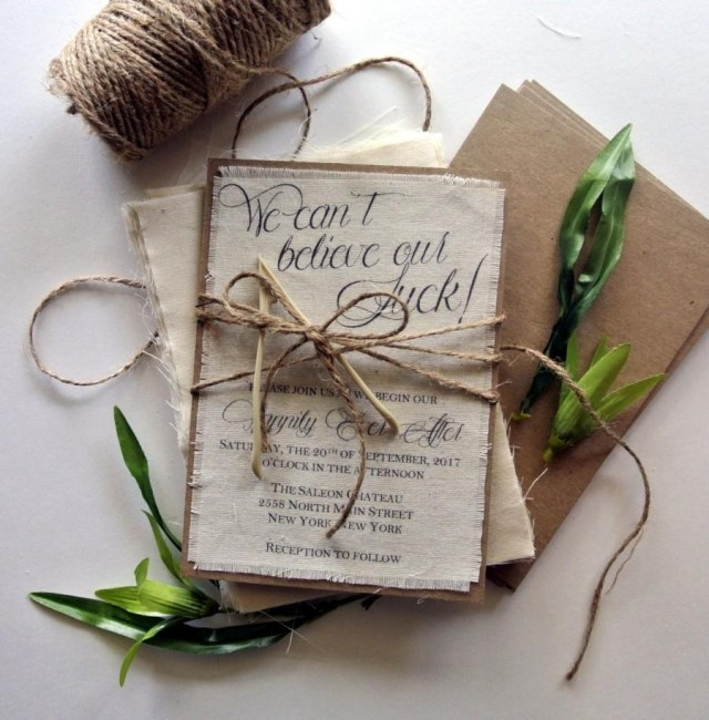 Wedding Invitation Ideas Rustic Wedding Invitation Lucky Wishbone Wedding Invitation Ideas