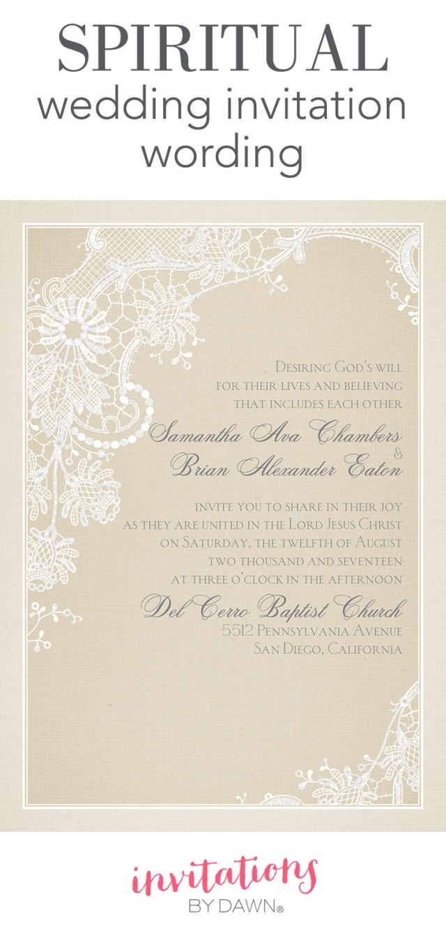 Wedding Invitation Ideas Spiritual Wedding Invitation Wording Invitations Dawn
