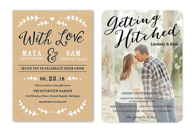 Wedding Invitation Images 35 Wedding Invitation Wording Examples 2018 Shutterfly