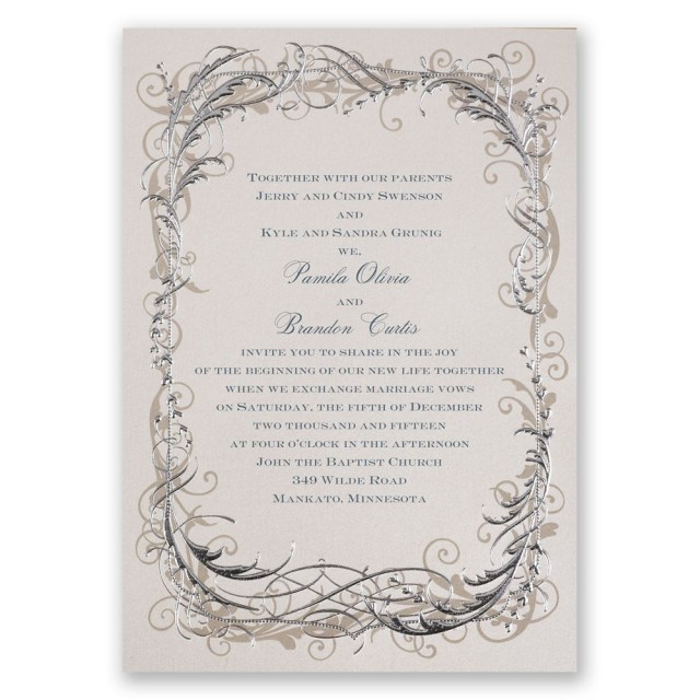Wedding Invitation Images Vintage Shine Invitation Invitations Dawn