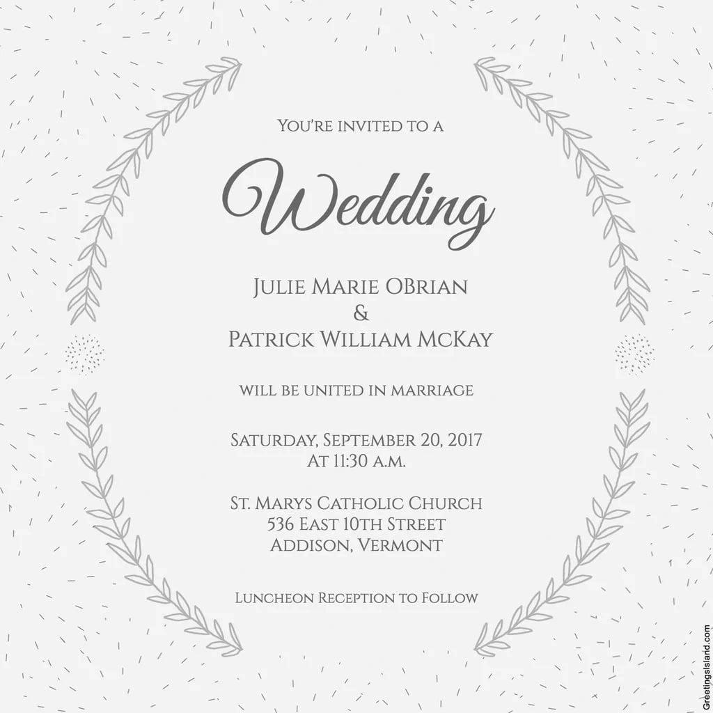 Wedding Invitation Message Wedding Invitation Messages For Friends Yengh