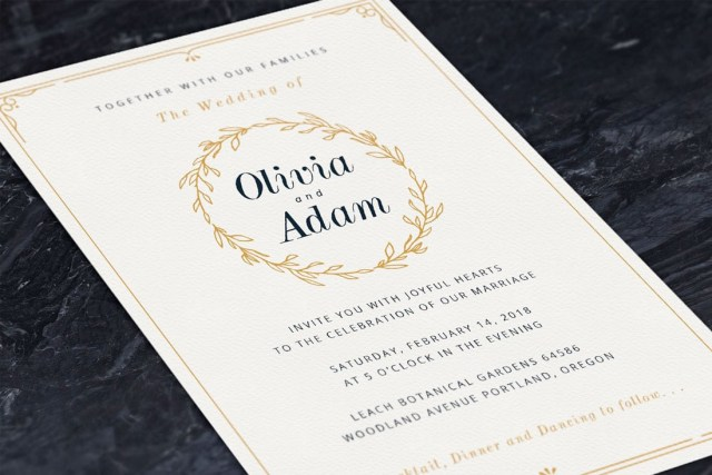 Wedding Invitation Pictures How To Design Wedding Invitations 7 Simple Steps Design Shack
