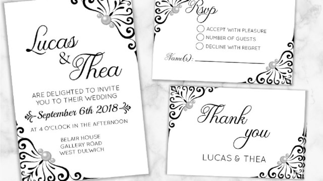 Wedding Invitation Rsvp Diy Make Your Wedding Invitations Rsvp Thank You Cards I