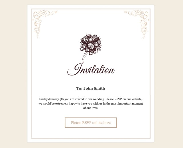 Wedding Invitation Rsvp Rsvp And Wedding Invitation WordPress Plugin Craftedpixels