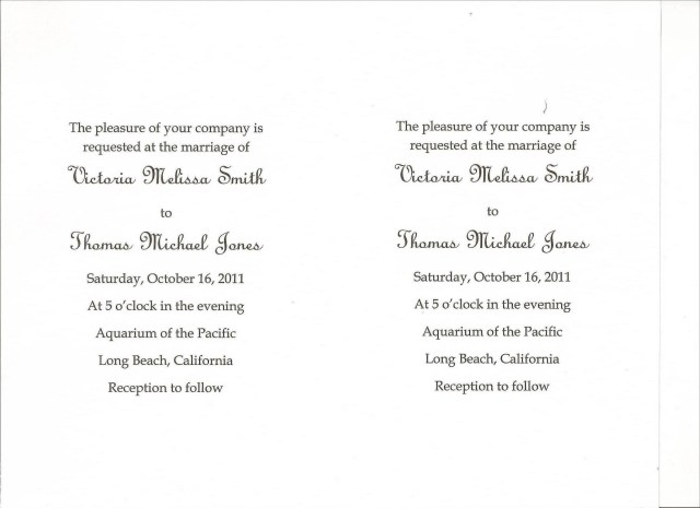 Wedding Invitation Sayings Diy Wedding Invitations Simple Wedding Invitations Using Microsoft Word