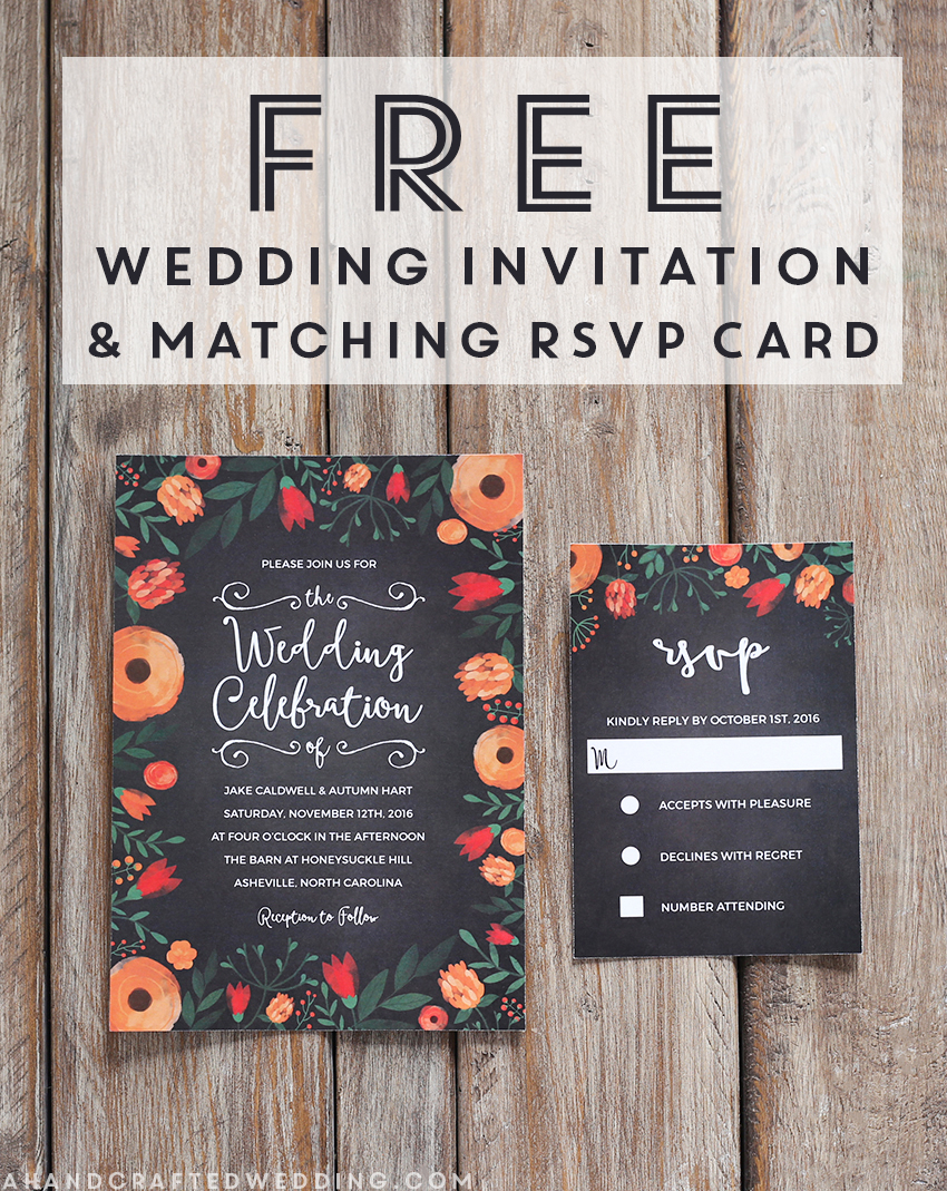 Wedding Invitation Template Free Free Whimsical Wedding Invitation Template Mountain Modern Life