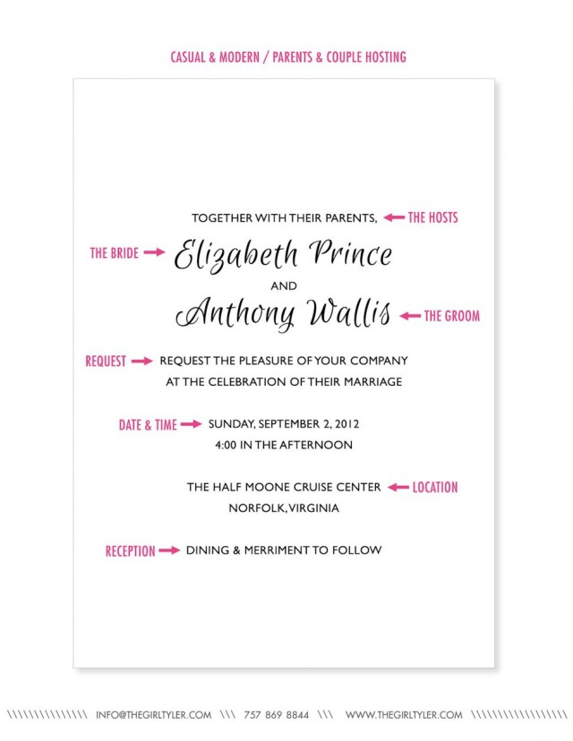 Wedding Invitation Wording Etiquette Proper Wedding Invitation Wording Proper Wedding Invitation Wording