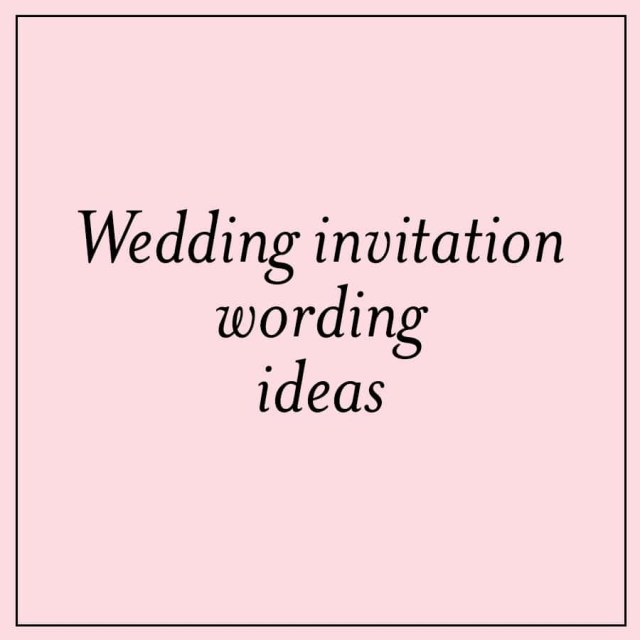 Wedding Invitation Wording Ideas Unique Wedding Invitation Wording Ideas Custom Invitations Unique