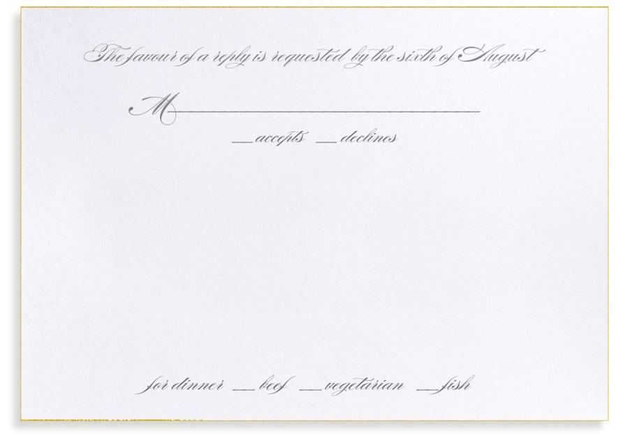 Wedding Invitations And Response Cards Bellinvito Updates Mind Your Rsvps Qs Formal Response Card
