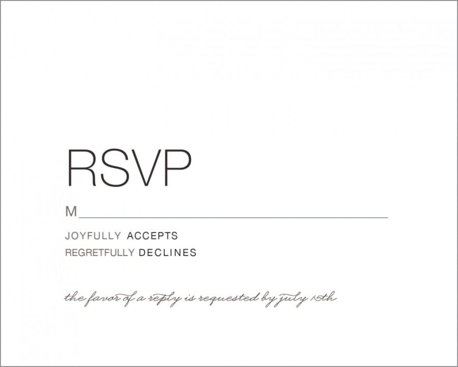Wedding Invitations And Response Cards Response Cards Wedding Dokyakapookco