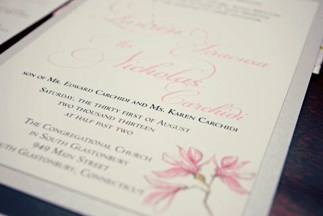 Wedding Invitations Printing Printing Options For Your Wedding Invitations Weddinglovely Blog