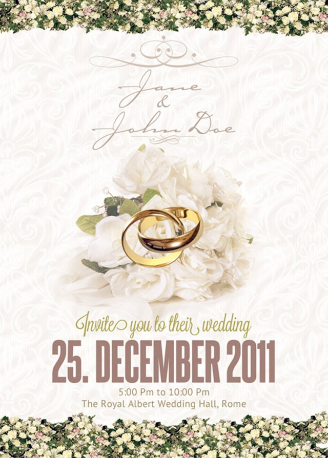 Wedding Invitations Template 10 Design Tips For Creating Amazing Wedding Invitations