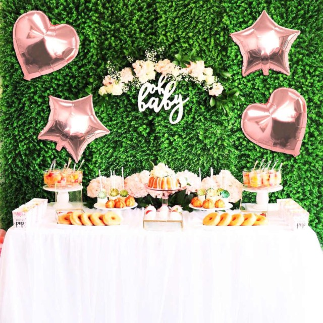 Wedding Party Decorations Detail Feedback Questions About 14pcs Rose Gold Heart Balloons Foil