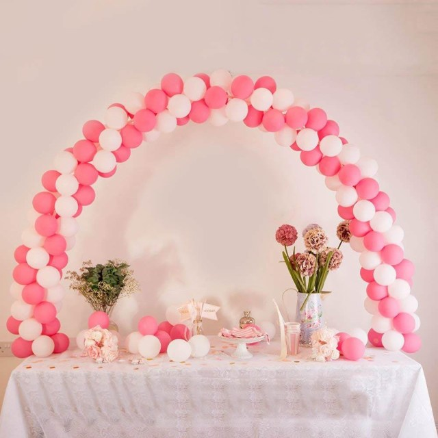 Wedding Party Decorations Efavormart 12ft Adjustable Balloon Arch Stand Kit Diy Birthday