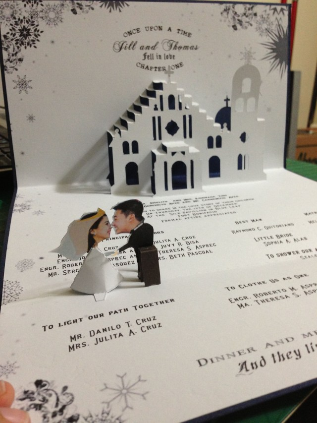 Wedding Pop Up Invitations Pop Up Wedding Invitations Mixed With Delightful Accessories And