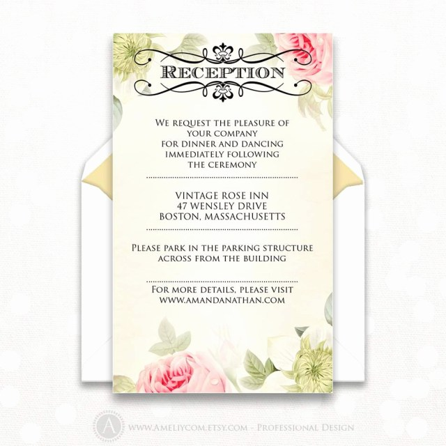 Wedding Reception Invitation New 1 Illustration Wedding Reception Invite Wedding Ideas Real