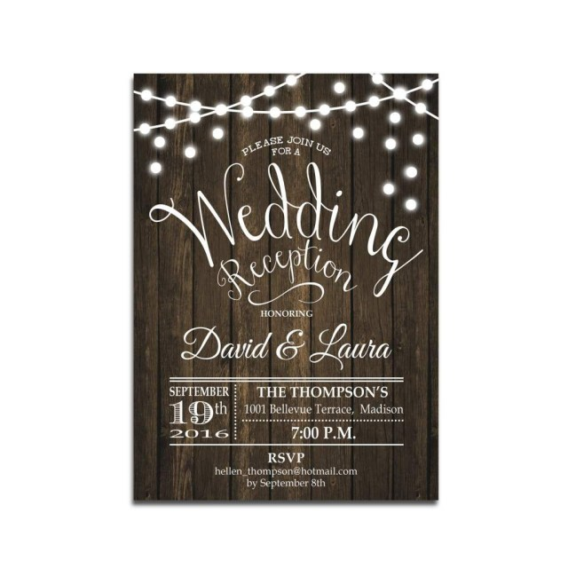 Wedding Reception Invitation Reception Only Wedding Invitations Wedding Pinterest Wedding