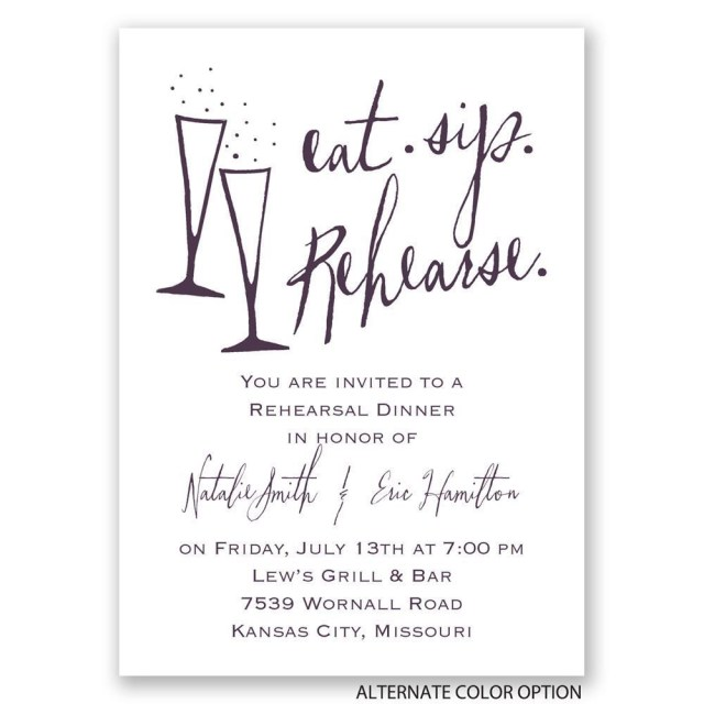 Wedding Rehearsal Dinner Invitations Rehearsal Dinner Invitations Wording Invitations Card Template