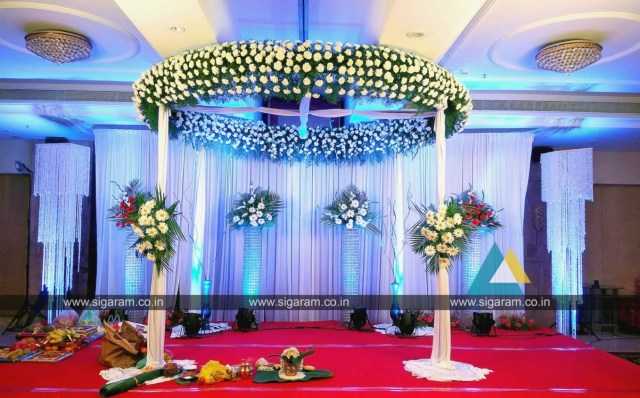 Wedding Stage Decoration Materials Decorations Reception And Wedding Stage Decoration At Accord Hotel