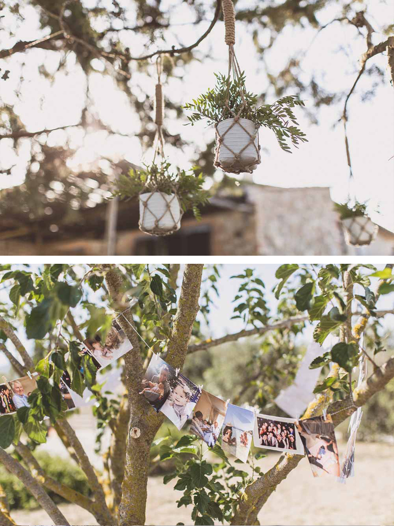 Wedding Tree Decorations Hanging Tree Decorations Macrame Pot Holders Family Photos Wedding