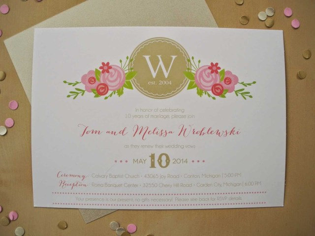 Wedding Vow Renewal Invitations Happy Heart Vow Renewal Invitation Take 2 On I Do Renewing Our