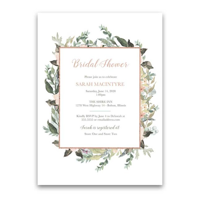Woodsy Wedding Invitations Woodsy Bridal Shower Invitation Archives Noted Occasions Unique