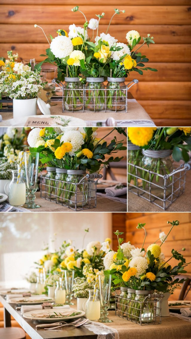 Yellow Wedding Decorations 50 Stunning Diy Wedding Centrepieces Ideas And Inspiration