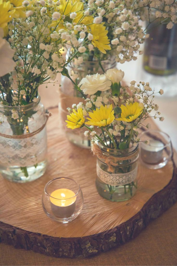 Yellow Wedding Decorations Sweetheart Table Decor Diy Yellow Gray Daisy Gpfarmasi 1e380e0a02e6