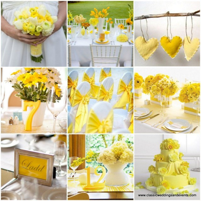 Yellow Wedding Decorations Yellow And White Wedding Decoration Ideas Yellow Wedding Ideas The