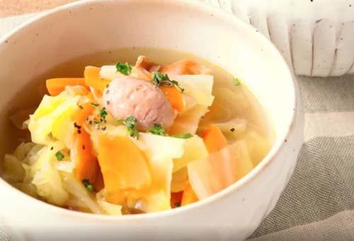 ゆいP 野菜スープ