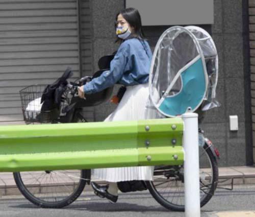 菅野美穂 自転車