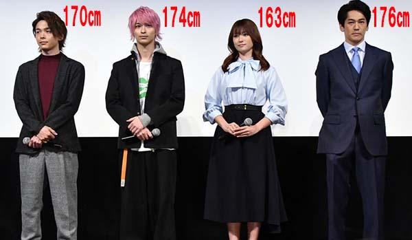 【比較画像】横浜流星は身長が低い?シークレットブーツでサバ読み疑惑?