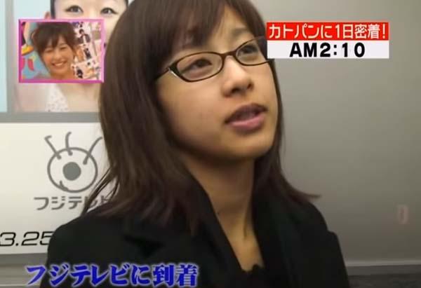 加藤綾子(カトパン)のすっぴんは別人級?若い頃はギャルで顔変わり過ぎ!