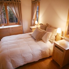 Cottage Interior - Bedroom view