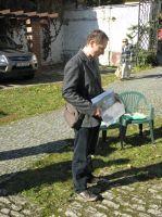 ing. pavel Míka přebíral certifikát za firmu U.T.C. properties