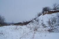 kácení keřů probíhalo ještě za pořádné sněhové kalamity