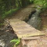 hotový mostek u arboreta
