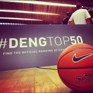 Branding at Deng Top 50 Camp