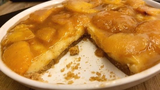 Şeftalili Tatlı, şeftalili pasta