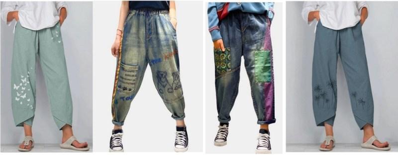 rahat pantolon, salaş pantolon