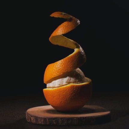 portakal kabuğu evde maske yapımı