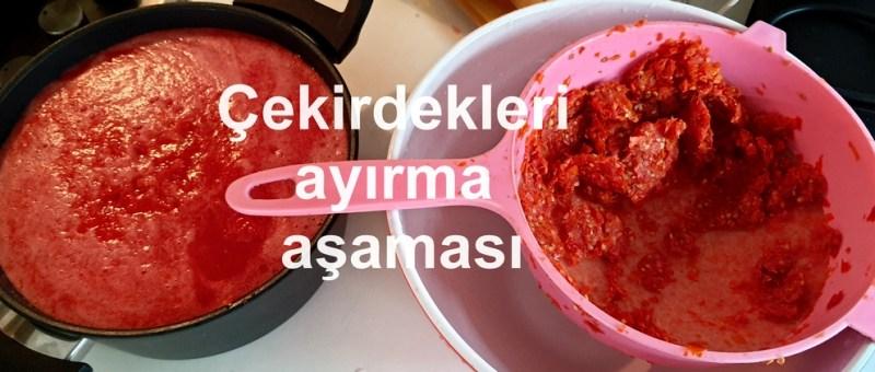 salçalık domates, salça yapımı