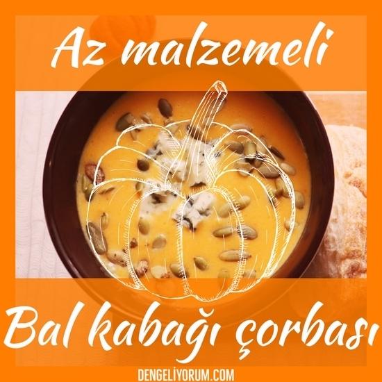 az malzemeli bal kabağı çorbası tarifi