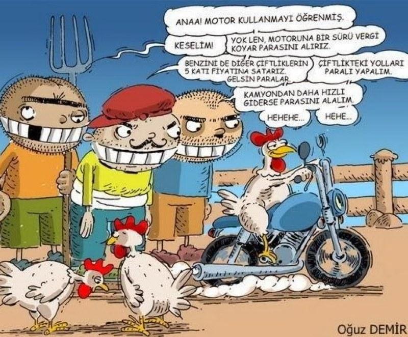 Motosikletçiler cezalandırılıyor mu?