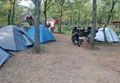 Motosikletle kamp