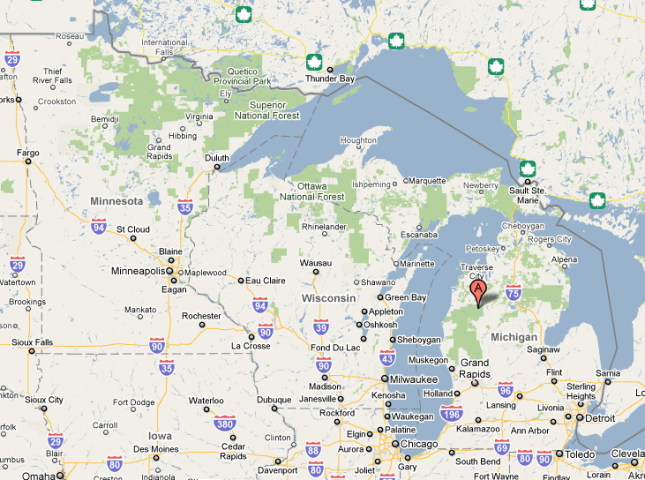 SSRS R2 Map     What Happened to Michigan       Dan English s BI Blog image