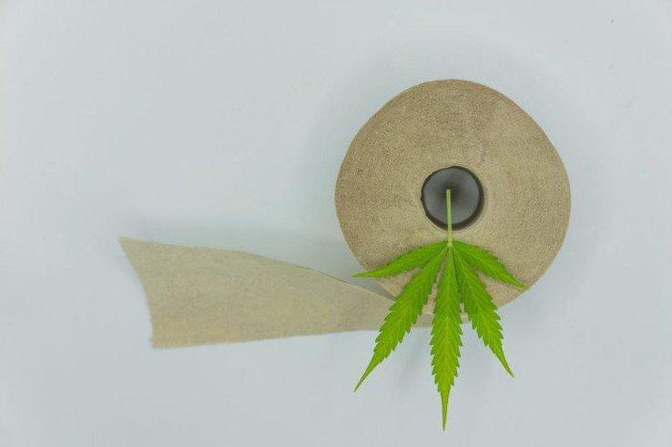 Hamp toalettpapir
