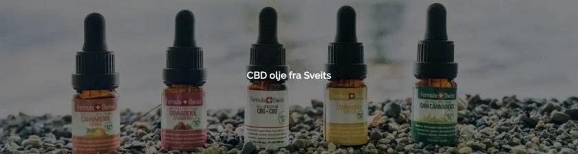 CBD olje fra Sveits
